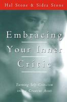 Embracing Your Inner Critic PDF