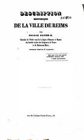 Description historique de la ville de Reims