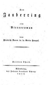 Der Zauberring: ein Ritterroman, Band 3
