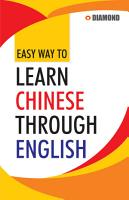 Easy Way to Learn Chinese Through English in 30 days PDF