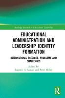 Educational Administration and Leadership Identity Formation PDF