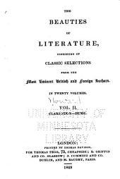 The Beauties of Literature: Consisting of Classic Selections from the Most Eminent British and Foreign Authors, Volume 2