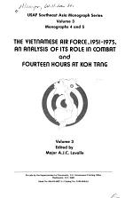 The Vietnamese Air Force, 1951-1975