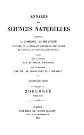 Annales des sciences naturelles: Zoologie, Volume8