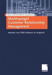 Marktspiegel Customer Relationship Management: Anbieter von CRM-Software im Vergleich