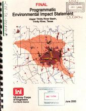Upper Trinity River Basin, Trinity River, Programmatic EIS: Environmental Impact Statement