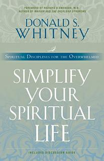 Simplify Your Spiritual Life Book