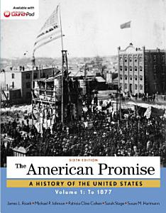 The American Promise  Volume 1 Book