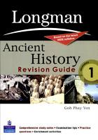 Ancient History Revision Guide PDF