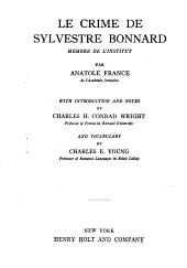 Le crime de Sylvestre Bonnard: membre de l'Institut
