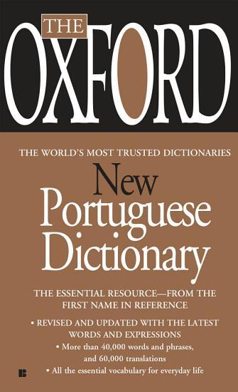 The Oxford New Portuguese Dictionary PDF