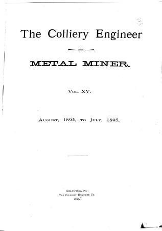 Colliery Engineer PDF