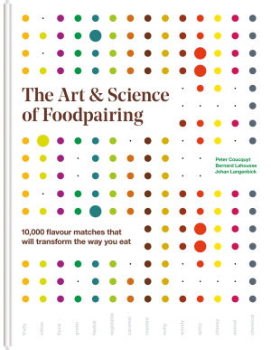 The Art   Science of Foodpairing