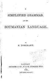 A Simplified Grammar of the Roumanian Language