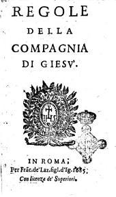 Regole della Compagnia di Giesu'