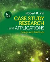 Case Study Research and Applications PDF