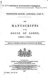 The Manuscripts of the House of Lords: 1710-1712 (H.L. 1947