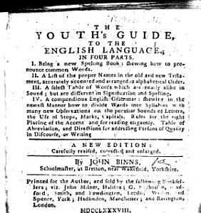 The Youth s Guide to the English Language     A New Edition  Carefully Revised  Etc PDF