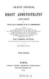 Traite General de Droit Administratif Applique