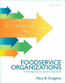 Foodservice Organizations Book