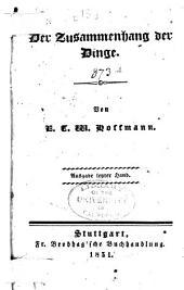 E.T.A. Hoffmann's Erzählende Schriften, in einer Auswahl: Herausgegeben von seiner Wittwe Micheline Hoffman, Band 8;Bände 10-13;Band 15;Band 18