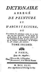 Dictionnaire abrege de peinture et d'architecture: Volume2