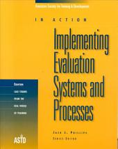 Implementing Evaluation Systems & Processes