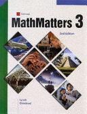 MathMatters  Book 3  Student Edition PDF