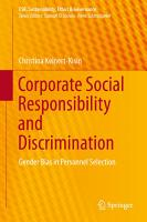 Corporate Social Responsibility and Discrimination PDF