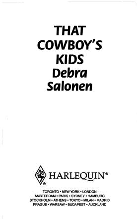 That Cowboy s Kids PDF
