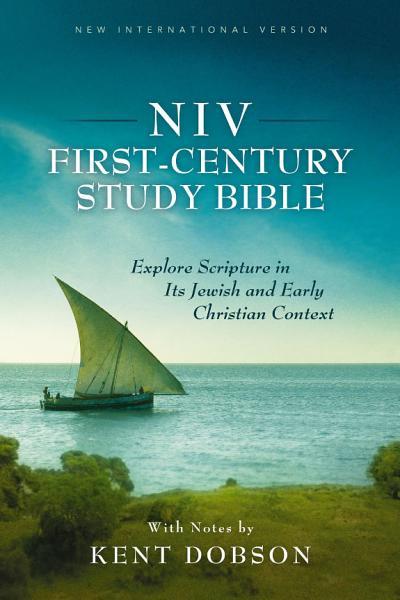 NIV  First Century Study Bible  eBook PDF