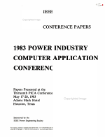 Power Industry Computer Applications Conference  PICA PDF