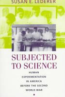 Subjected to Science PDF