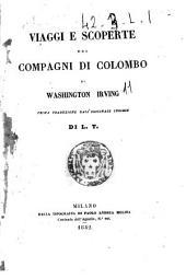 Viaggi e scoperte dei compagni di Colombo di Washington Irving
