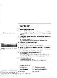Canadian Business Magazine PDF