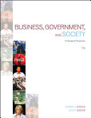 Business  Government and Society  A Managerial Perspective PDF