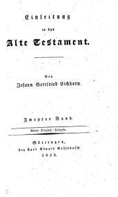 Einleitung ins Alte Testament. 2e, verbesserte und vermehrte Ausq. 4e Original-Ausg