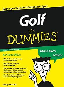 Golf f  r Dummies PDF