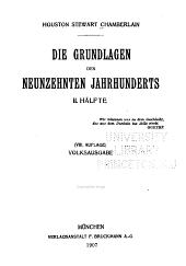 Die grundlagen des neunzehnten jahrhunderts: Band 2