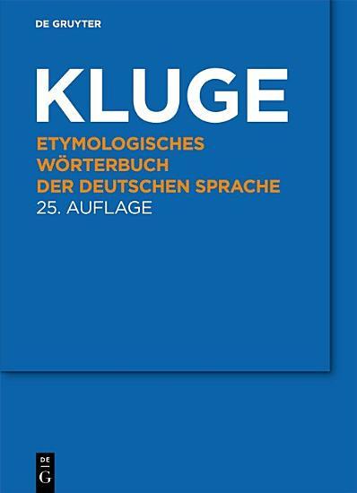 Etymologisches W  rterbuch der deutschen Sprache PDF
