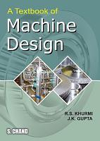 A Textbook of Machine Design PDF