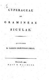 Cyperaceae et gramineae Siculae