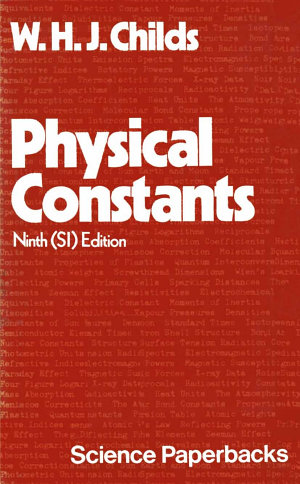 Physical Constants