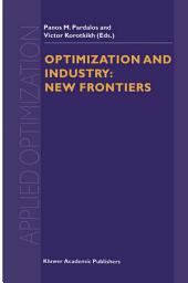 Optimization and Industry: New Frontiers