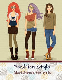Fashion Style Sketchbook for Girls PDF