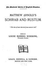Sohrab & Rustum ...