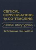 Critical Conversations in Co teaching PDF