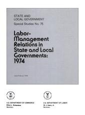 State and local government special studies: Issue 75