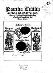 Practica Teutsch auf das 1536 jar