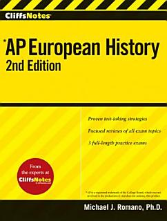CliffsAP European History Book